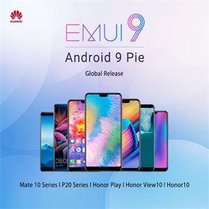 Smartphony Huawei a Honor dostávají Android 9 a novou verzi