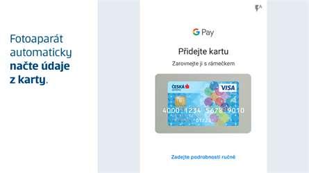platba mobilem česká spořitelna